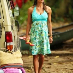 Athleta Pack Everywhere Halter Dress